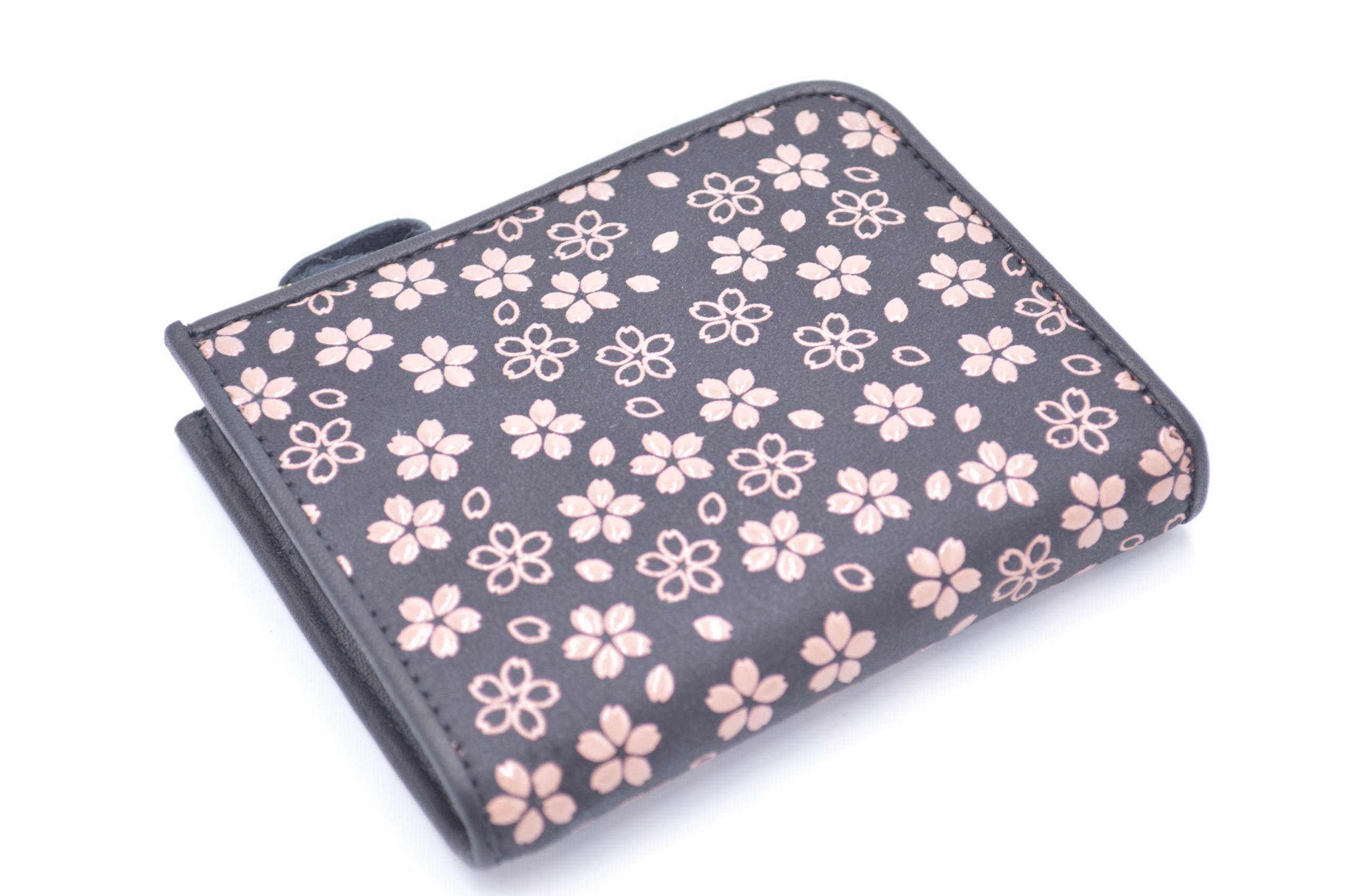 ミニ財布B 桜柄